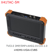 portable cctv lcd monitor tester for X41TAC-5M cctv tester from asmile