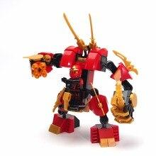 Ninjagoed Minifigures Cole Kai Jay Lloyd Nya Skylor Zane Pythor Chen Building Blocks Figures Toys Compatible Legoelied