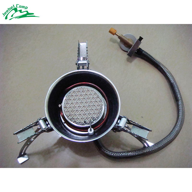 цена New Arrival DAS-6001 Super Windproof Camping Stove Gas Burner Outdoor Cooker Picnic Cookout Split-Type Stove Hiking Equipment