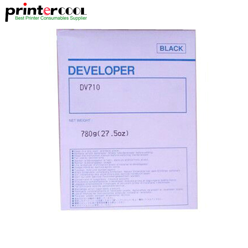 780g Compatible DV710 Developer For Minolta BH 751 600 750 601 Printer Copier Parts hot 400000 pages dedicated japan opc drum for konica minolta bizhub 600 601 750 751 7155 dr 710 02xl long life copier parts