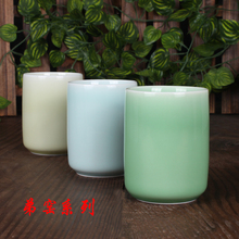 Genuine Longquan Celadon Kungfu Teaware Teacup Office Water Cup Kitchen Drinking