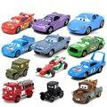 Горячая Продажа 19 Стилей Pixar Cars 2 Flo 1/42 Масштаб Литья Под Давлением металлического Сплава Modle Симпатичные Игрушки Для Детей Подарки Аниме Мультфильм Дети куклы