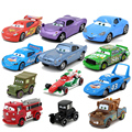 Hot Sale 19 Styles Pixar Cars 2 Flo 1/42 Scale Diecast Metal Alloy Modle Cute Toys For Children Gifts Anime Cartoon Kids Dolls