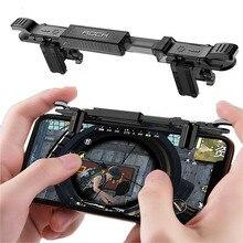 새로운 게임 조이스틱 조이패드 모바일 전화 Pubg 모바일 무료 화재 조준 버튼 게임 트리거 게임 컨트롤러 pubg L1 R1 슈터