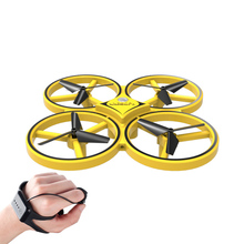 2.4G Mini Drone RC Drone Headless Mode One Key Return RC Helicopter Four axis Aircraft Sensor Flying Saucer UFO Kids Outdoor Toy