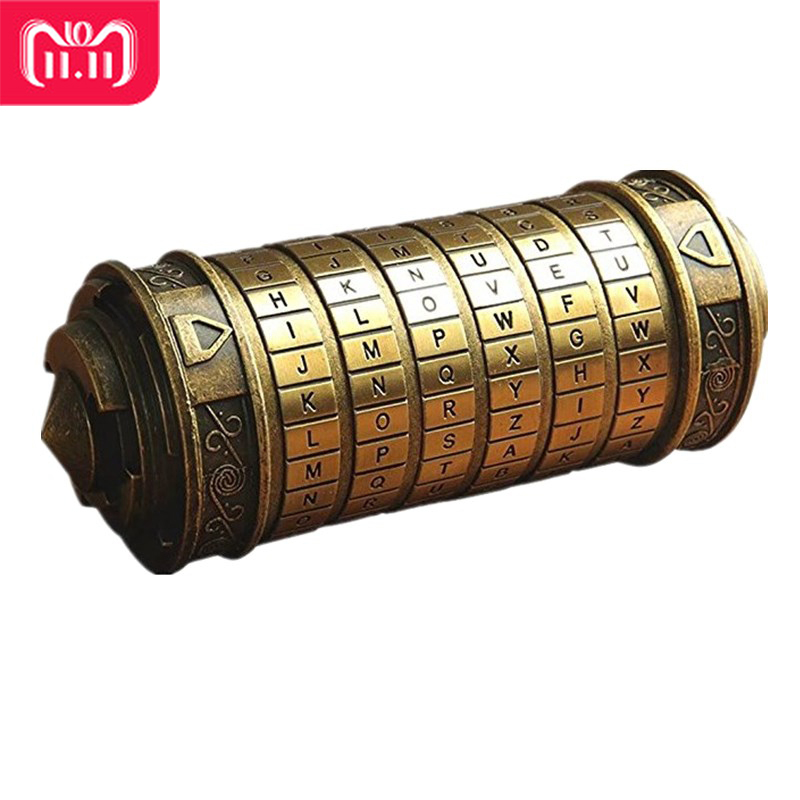 Da Vinci Mini cryptex Locker Toys Cryptex Valentine's Day Interesting Creative Romantic Play Games Birthday Gifts For Boys Girls