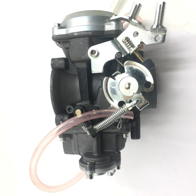 US $198 99 |SherryBerg carburettor vegaser 40mm cv40 factory carburetor  carb fit keihin for harley davidson Dana Electra Glide FatBoy cv 40-in  Valves