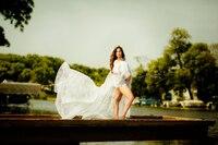 Кружевное платье для беременных Платья для фотосессии платья для фотосессии для беременных Макси Платье рубашка платье для фотосессии