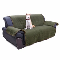 Wholesale! Pet Furniture Three Seat Sofa Cushion Pet Sofa Protector Machine Available Iin BothBrown And Green Sides Can Be Wash