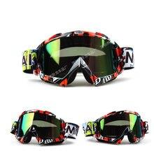 43a32acfd1332 Novo Homem Mulheres Óculos de Motocross Óculos De Proteção Óculos de Ciclismo  MX Off Road Capacetes Esporte Oculos Gafas Para A ..