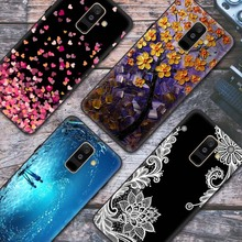 Cover For Samsung Galaxy A6 2018 Case ,High Quality Phone Black Back for plus