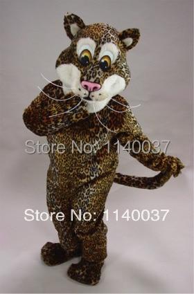 talismanas puma leopardas pliušinis Jaguar Mascot kostiumas pagal - Karnavaliniai kostiumai
