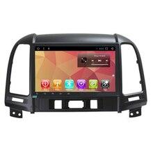 Otojeta Авторадио Android 7.1 2 ГБ оперативной памяти + 32 ГБ ROM dvd-плеер автомобиля для Hyundai Santa Fe Мультимедиа GPS голова ЮНТИС bt стерео GPS
