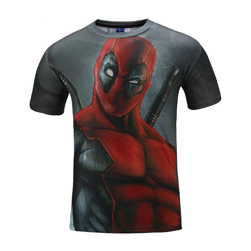 New Fashion Men 3D man printed t-shirts Spider Superman tshirt funny anime  tee shirt mens clothing brand homme