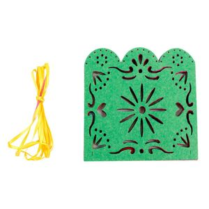 Image 5 - New arrival Novelty 1x Mexican Papel Picado Banner Flags Garland Wedding Spanish Mexican Party Decor for party anniversary
