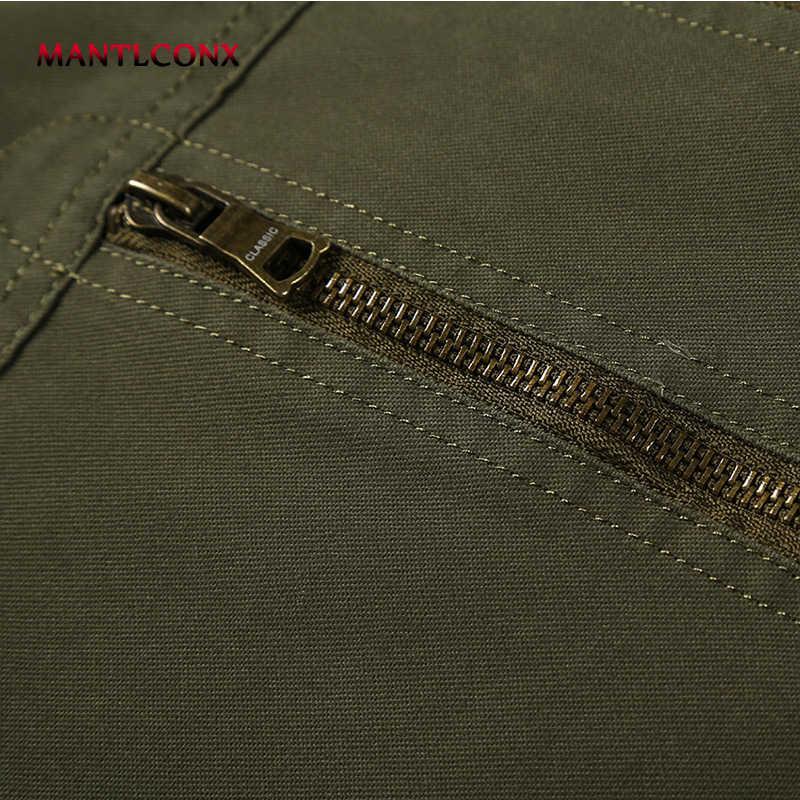 MANTLCONX 2020 wiosna bluza z kapturem mężczyźni jesień długi płaszcz casacos masculino męska odzież wierzchnia jesień męska kurtka Puls rozmiar 4XL płaszcz czarny