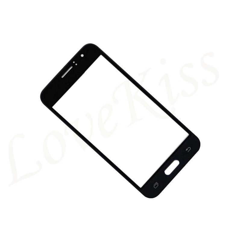 Lovekiss para Samsung Galaxy J1 2016 J120 J120F J120H J120M pantalla táctil Panel frontal vidrio LCD pantalla exterior vidrio repuesto