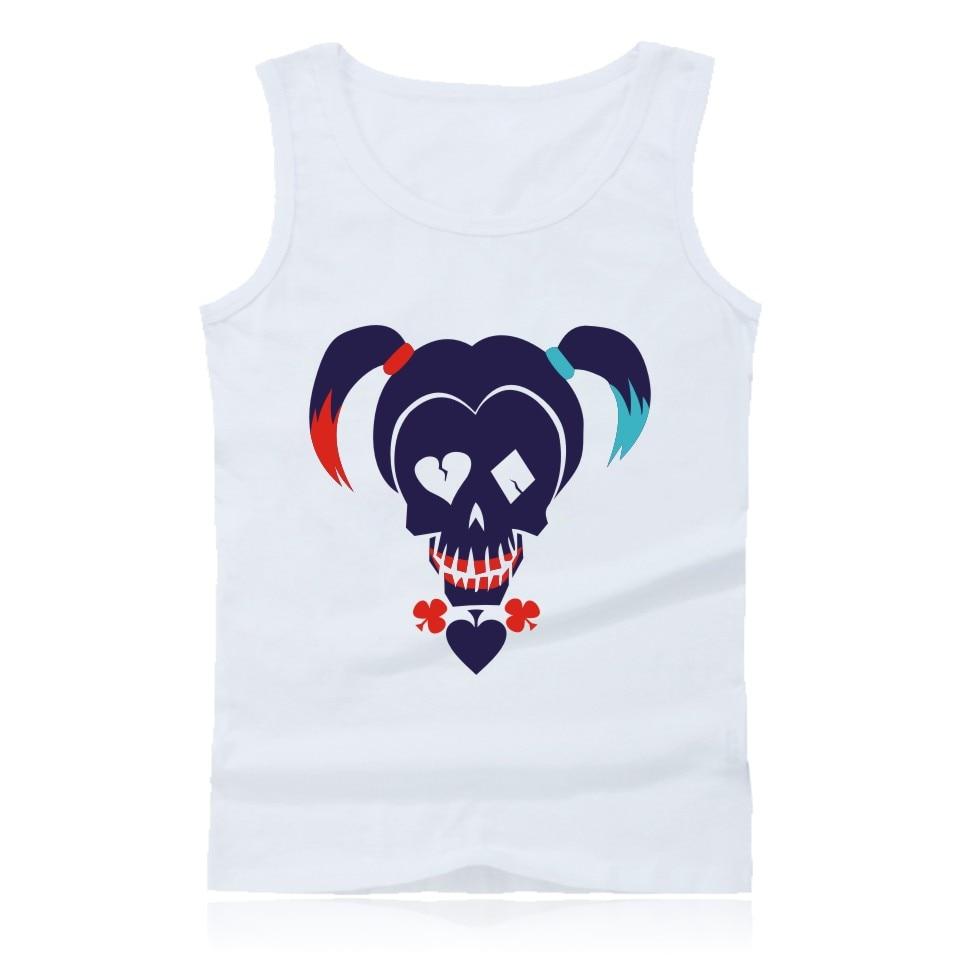 Madman Suicide Squad Harley Quinn   Tank     Top   Men Brand Bodybuilding Sleeveless Shirt and Joker Summer Vests 4xl