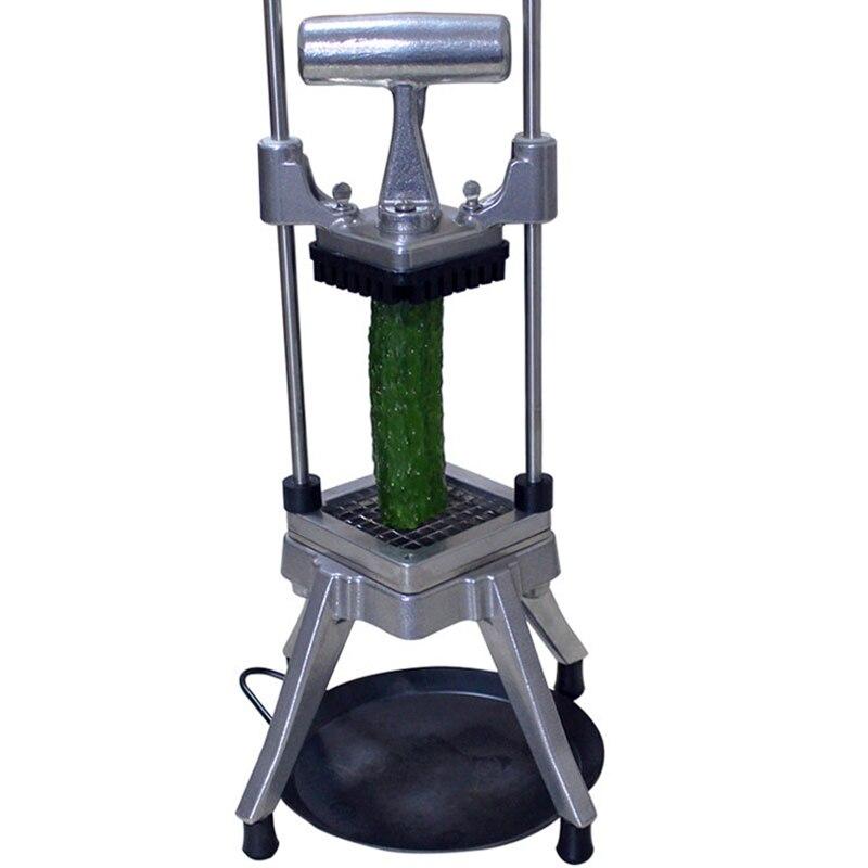 Ручной Резак для овощей, машина для резки картофеля, прибор для нарезки кубиками из нержавеющей стали - 2