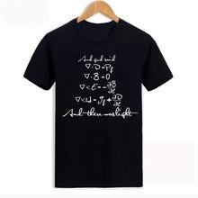 Fashion New Men women T Shirts Funny Math Tee Shirt Cotton Formula Short Sleeve T-Shirt