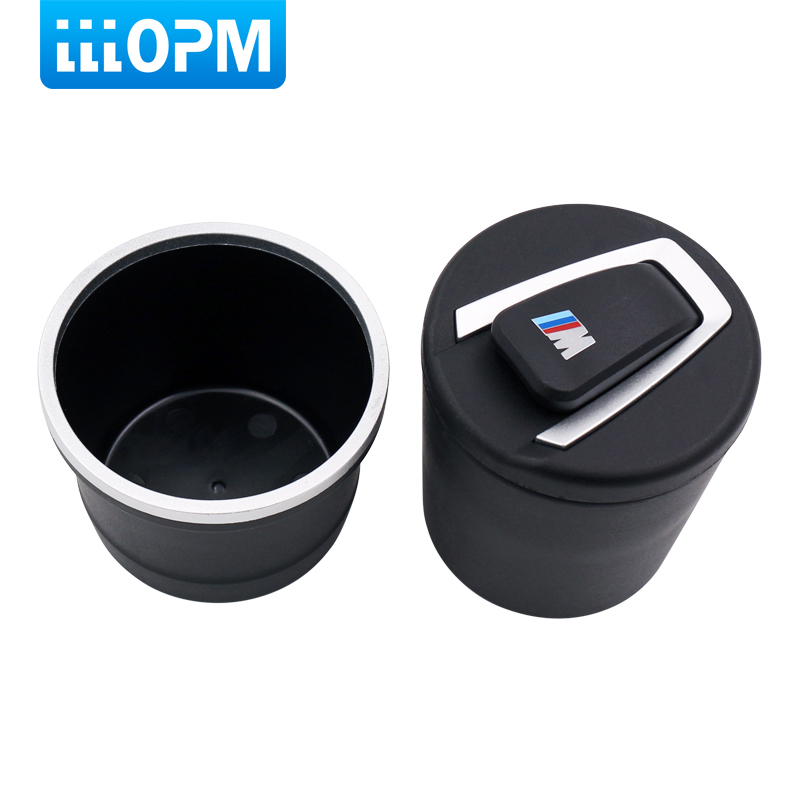Car Ash Holder Tray Ashtray Storage Cup With LED for BMW 1 3 4 5 7 Series X1 X3 X5 X6 Ash Garbage Container Car Accessories ashtray dragon