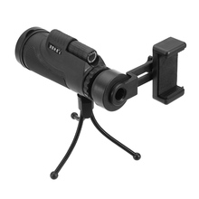 Buy DongChaQiuHao 12×50 Telescope Monocular Lens Phone Camera Lens with Universal Phone Holder View Hiking Camping for Smartphones