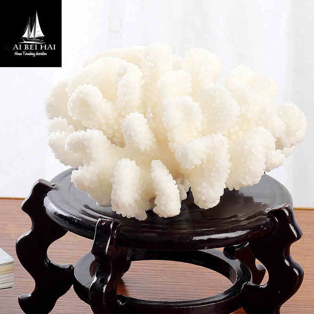 Various Shapes Natural White Coral Rock Beautiful Aquarium Decoration Landscape Ornaments Home Garden Fish Aquatic Pet Supplies