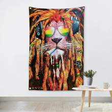 Bob Marley Flag Banner Lion Music Rock Band Reggae Jamaica Home Decoration Hanging flag 4 Gromments in Corners 3*5FT 144cm*96cm