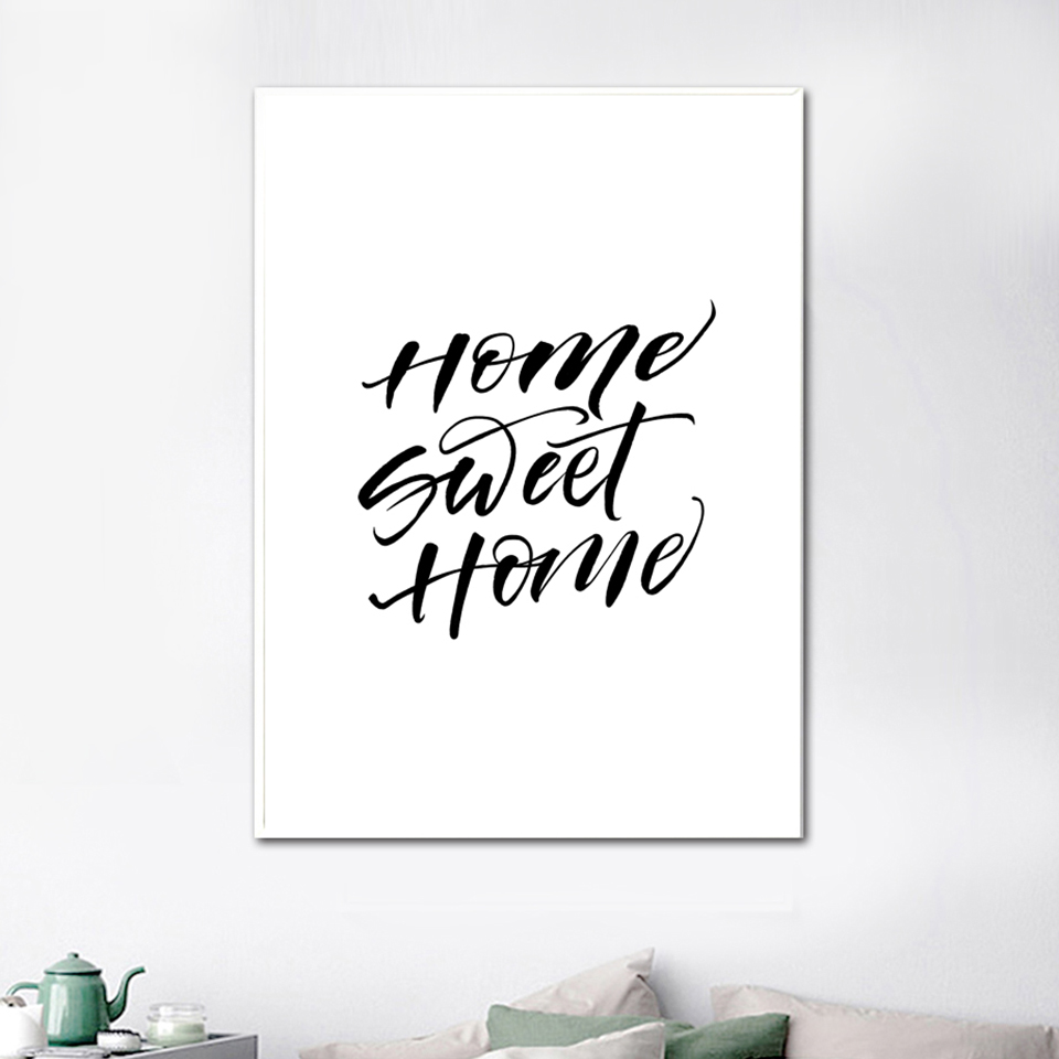Canvas Printed Poster Home Decorative Animal Giraffe Quotes Nordic Poster Painting Wall Artwork Pictures Living Room Modular