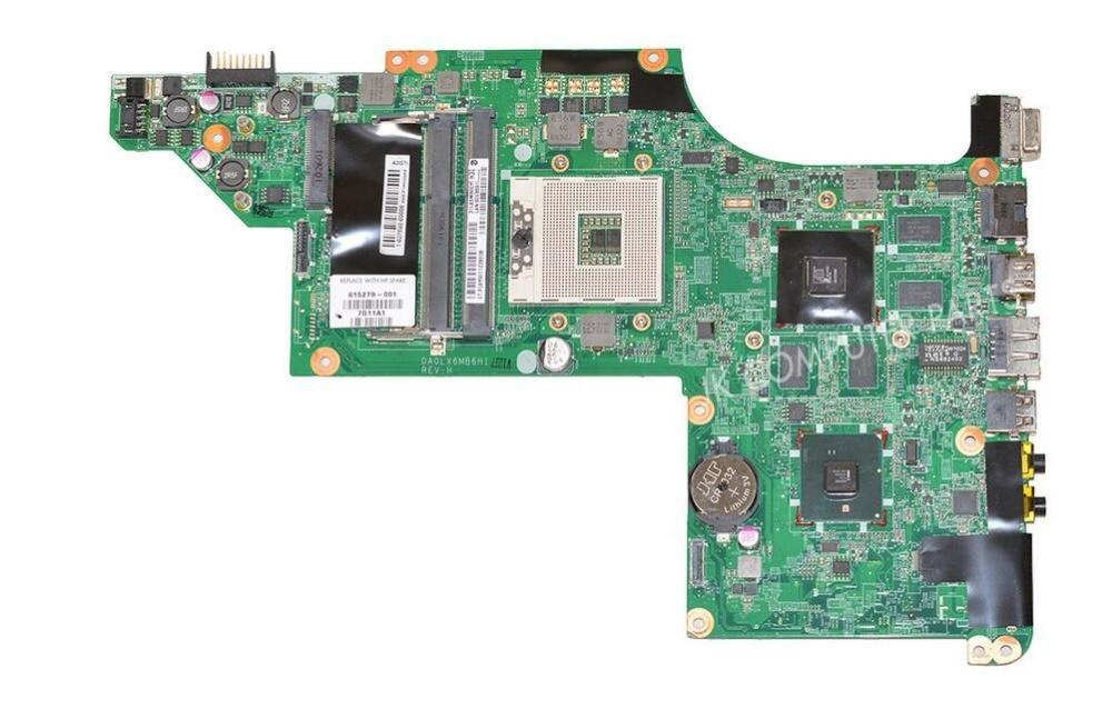 615279 001 FOR HP DV6 DV6 3000 Laptop Motherboard DA0LX6MB6H1 REV H hm55 5650 1G 100