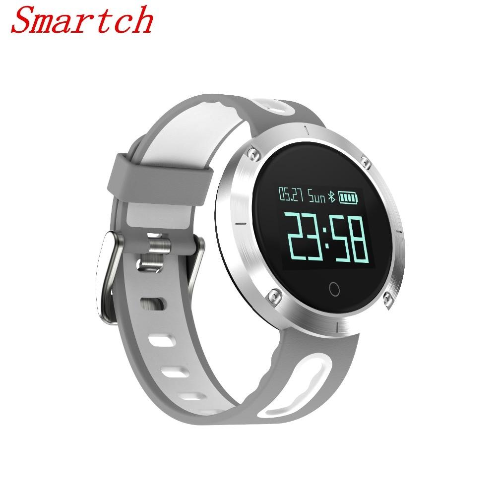 Smartch DM58 Waterproof IP67 Smart Watch Blood Pressure Heart Rate Monitor Bluetooth Wrist Band Intelligent Bracelet