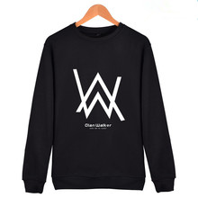 New Alan Walke Pullover Hoodies Sweatshirts Men/Women Jackets Cotton Fleece Casual DJ Alan Walker Stress Fashon Funny Top