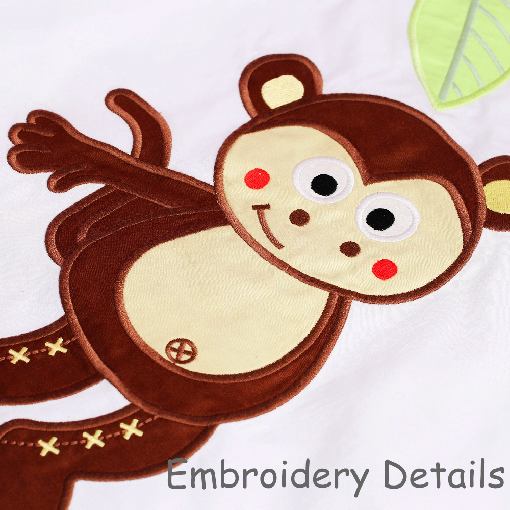 i-baby Noworodek niemowlęcy Szopka pościelowa zestaw 5szt Dżungla - Pościel - Zdjęcie 5