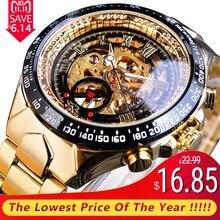 bbc054f028e Vencedor Novo Número Projeto Do Esporte Montre Homme Bezel Ouro Relógio  Mens Relógios Top Marca de