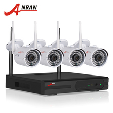 Plug And Play 4CH Camera Surveillance System 1TB HDD Wireless NVR Kit P2P 720P HD H.264 IR IP Outdoor Security CCTV Camera
