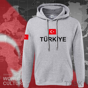Image 5 - كنزة رياضية رجالية بغطاء للرأس موديل 2017 من تركيا ملابس خروج جديدة للهيب هوب سترات رياضية بعلم الأمة التركية من الصوف للأتراك TR