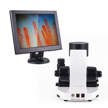 600x Magnify Noninvasive blood capillary microcirculation microscope, capillaroscope, Subhealth detector