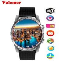 Volemer KW99 Smart Watch Phone MTK6580 3G WIFI GPS Watch Men Heart Rate Monitoring Bluetooth Smartwatch