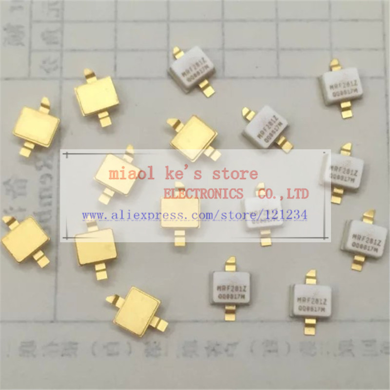 10 pcs 1 lot MRF281Z MRF281ZR1 CASE458C 03 NI 200Z 65V 25mA 4W 12 5dB