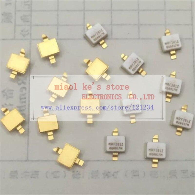 (10 Pcs/1 Lot) Mrf281z Mrf281zr1 [ Case458c-03 / Ni-200z ] 65v 25ma 4w 12.5db 1.93ghz - Rf Power Field Effect Transistors