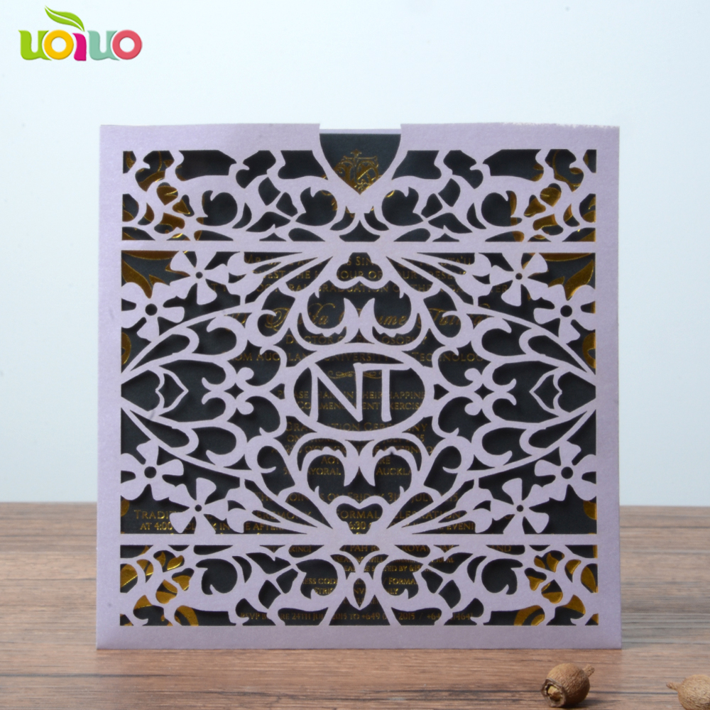 Price For Wedding Invitations: 10pcs Hot Sell Chinese Cheap Price Wedding Invitation Card