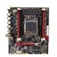 X79 материнская плата LGA 2011 MATX USB3.0 SATA3 PCI E 4*16 г ECC REG поддержки памяти Xeon E5 процессор