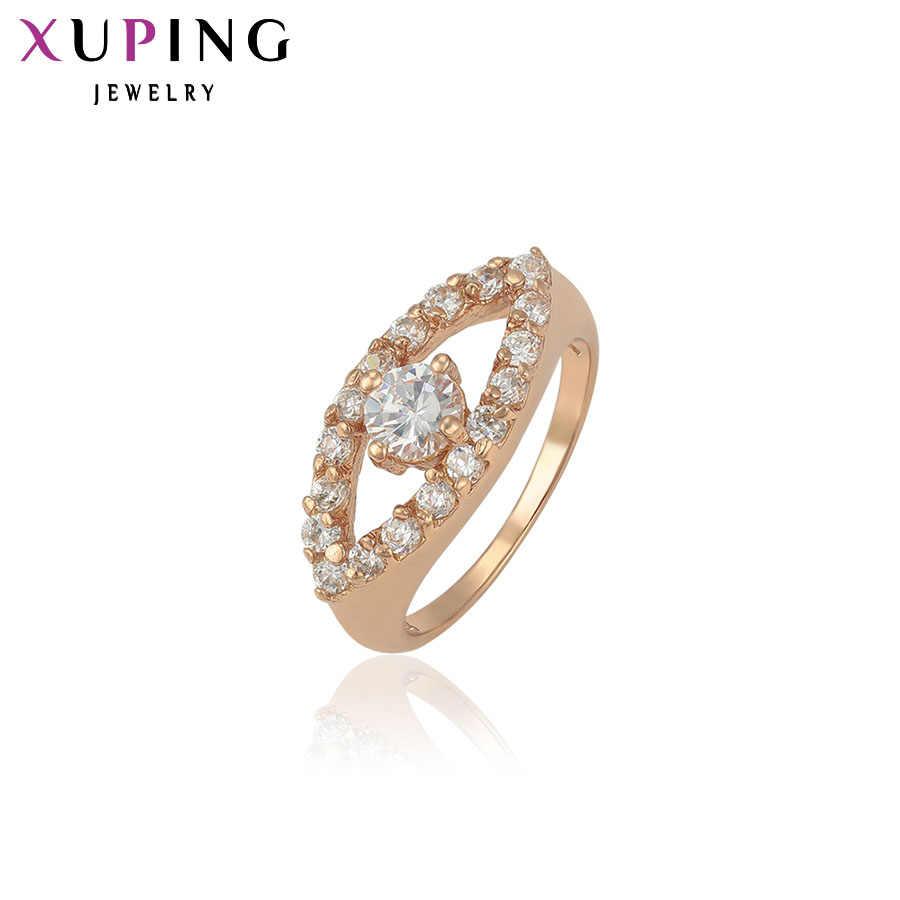 Xuping خاتم الموضة عيون خاصة تصميم فتاة النساء الذهب اللون عالية الجودة خاتم عيد الحب هدية الزفاف S33.2-11658
