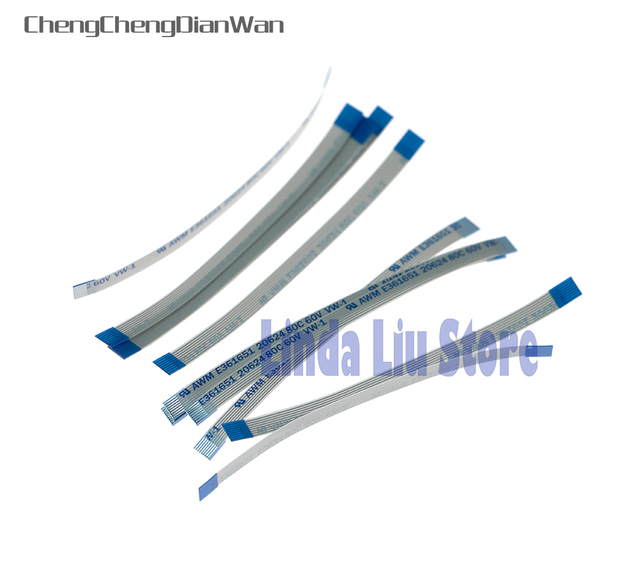 100pcs/lot Power Reset Switch Ribbon flex Cable for PS2 90000/900xx