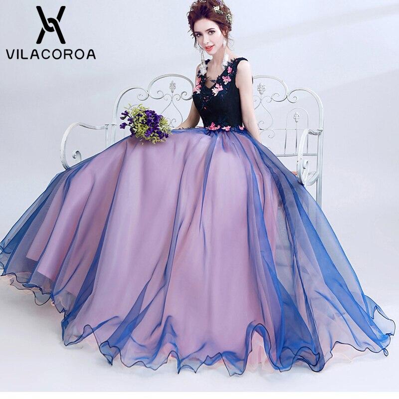 High Quality Sleeveless Applique Vestidos Birthday Party Dance Performance Dress For Women Long Party Dress vestidos