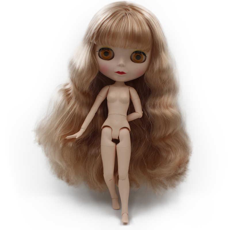 Blyth Puppe BJD, Neo Blyth Puppe Nude Angepasst Matt Gesicht Puppen Können Geändert Make-Up und Kleid DIY, 1/6 Ball Jointed Puppen SO33