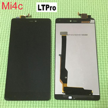 LTPro TOP Quality Full LCD Display Touch Screen Digitizer Assembly For Xiaomi Mi4C 4C Mi 4C Mobile Phone Replacement Parts