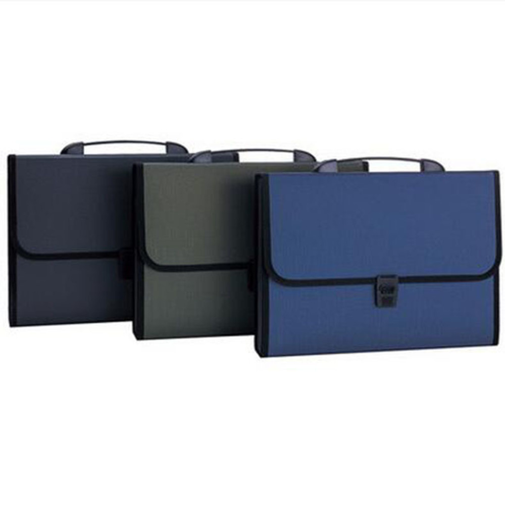 A4 multi-layer hinge package portable office supplies storage organ papers file holder bag folder carpetas fichario escolar/W010 free shipping office stationery a4 folder powerful single double clip pp material no peculiar smell carpetas pasta escolar w001