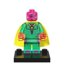Visão única Venda de star wars de super-heróis da marvel Coleção modelo de blocos de construção tijolos brinquedos para as crianças brinquedos menino
