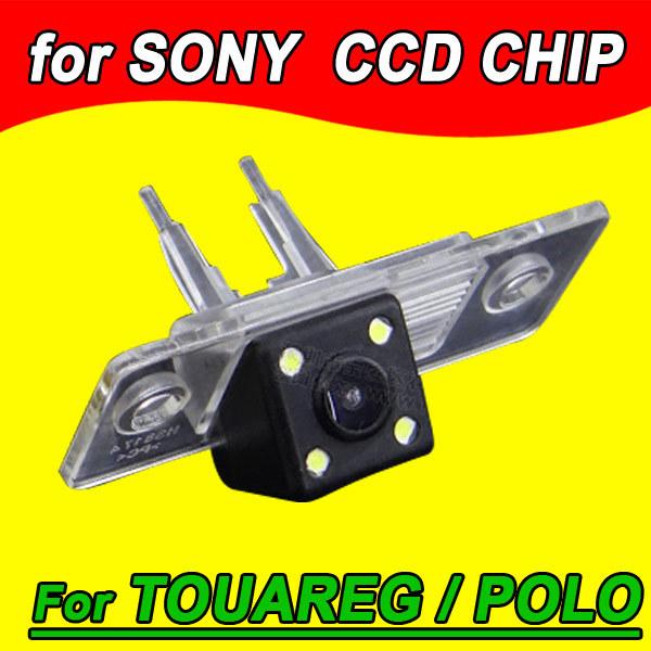 Para VW Polo Passat Santana Touareg Tiguan Car Câmara de visão traseira de volta até reverter para o rádio GPS PAL NTSC (opcional) à prova d' água 170